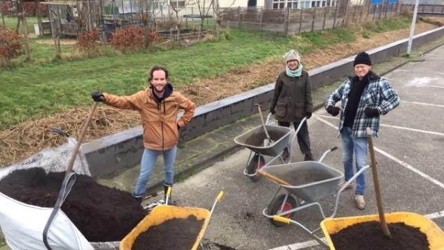 Compost kruien