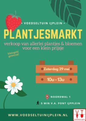 Plantjesmarkt 29 mei