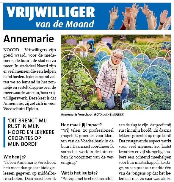 Noord-Amsterdams Nieuwsblad_Annemarie